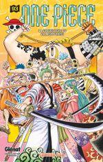 Couverture La Coqueluche du village d'Ebisu - One Piece, tome 93