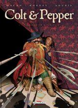 Couverture Pandemonium à Paragusa - Colt & Pepper, tome 1