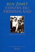 Couverture Contes du yiddishland