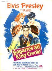 """Affiche Bagarres au """"King Creole"""""""