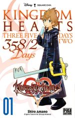 Couverture Kingdom Hearts : 358/2 Days, tome 1