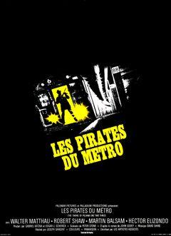 Affiche Les Pirates du métro