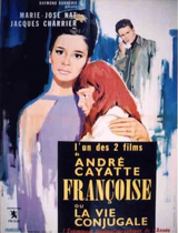 Affiche Françoise ou la Vie conjugale