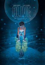 Couverture Olive - Tome 1, une lune bleue dans la tête