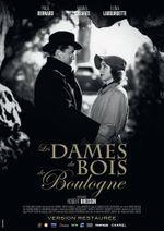 Affiche Les Dames du bois de Boulogne