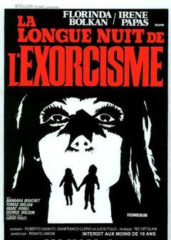 Affiche La Longue Nuit de l'exorcisme