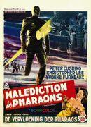 Affiche La Malédiction des pharaons