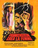 Affiche Frankenstein créa la femme