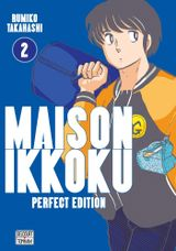 Couverture Maison Ikkoku (Perfect Edition), tome 2