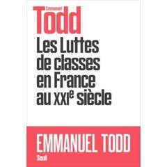 Couverture Les Luttes de classes en France au XXIe siècle