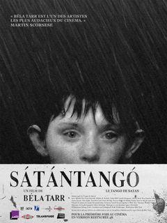 Affiche Sátántangó – Le Tango de Satan