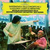Pochette Shostakovich: Cello Concerto No.2 / Glasounov: Chant du Menestrel