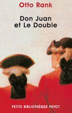Couverture Don Juan et le double