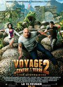 Affiche Voyage au centre de la Terre 2 : L'Île mystérieuse