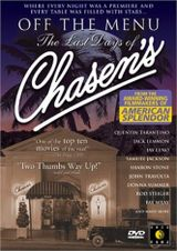 Affiche Off the Menu: The Last Days of Chasen's