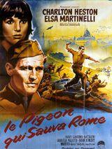 Affiche Le pigeon qui sauva Rome