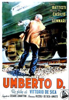 Affiche Umberto D.