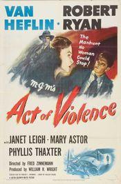 Affiche Acte de violence