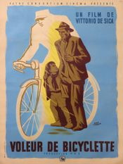 Affiche Le Voleur de bicyclette