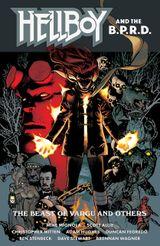Couverture La Bête de Vargu et autres histoires - Hellboy & B.P.R.D., tome 6
