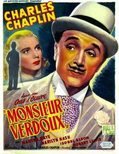Affiche Monsieur Verdoux