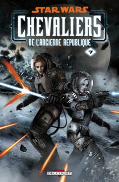 Couverture La Destructrice - Star Wars : Chevaliers de l'Ancienne République, tome 7