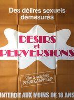 Affiche Désirs et perversions
