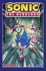 Couverture Infection - Sonic the Hedgehog, tome 4