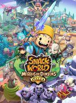 Jaquette Snack World : Mordus de Donjons - Gold