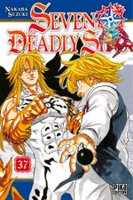 Couverture Seven Deadly Sins, tome 37