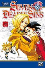 Couverture Seven Deadly Sins, tome 38