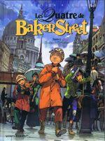 Couverture Le Dossier Raboukine - Les Quatre de Baker Street, tome 2