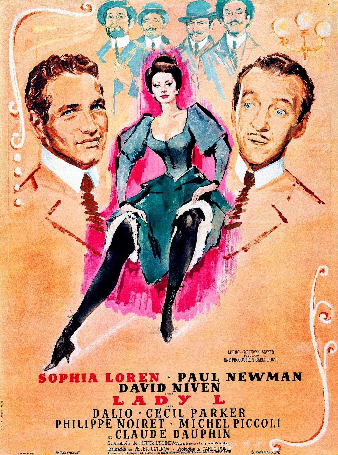 Lady L - Film (1965) - SensCritique