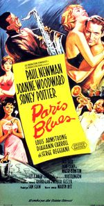 Affiche Paris Blues