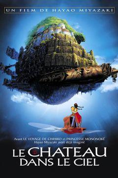 Affiche Le Château dans le ciel