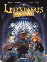 Couverture Game of Drôle - Les Légendaires Parodia, tome 5