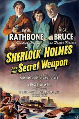 Affiche Sherlock Holmes et l'Arme secrète