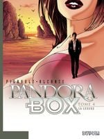 Couverture La Luxure - Pandora Box, tome 4