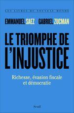 Couverture Le Triomphe de l'injustice