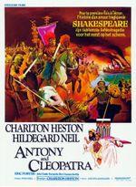 Affiche Antoine et Cléopâtre