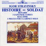 Pochette L'Histoire du Soldat / Renard / 3 Japanese Lyrics