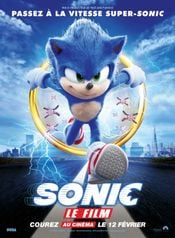 Affiche Sonic, le film