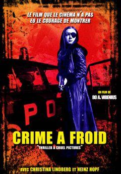 Affiche Crime à froid