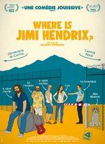 Affiche Where is Jimi Hendrix ?