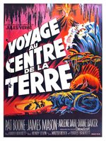 Affiche Voyage au centre de la Terre