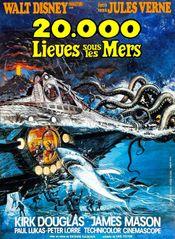 Affiche 20 000 Lieues sous les mers