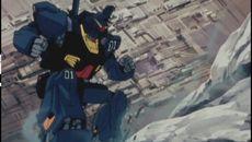 screenshots Le Gundam noir
