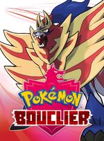 Jaquette Pokémon Bouclier