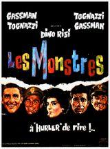 Affiche Les Monstres