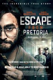 Affiche Escape from Pretoria